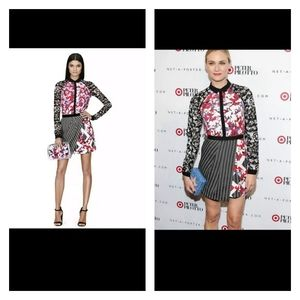 Peter Pilotto for Target Button Front Blouse